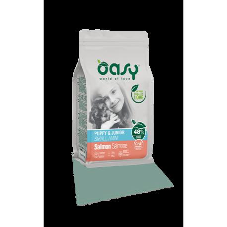 Oasy Dog Puppy&Junior Mini Salmone 2,5Kg