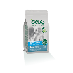 Oasy Dog Puppy&Junior Medium/Large Agnello