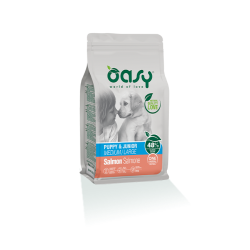 Oasy Dog Puppy&Junior Medium/Large Salmone
