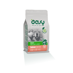 Oasy Dog Adult Medium/Large - Salmone