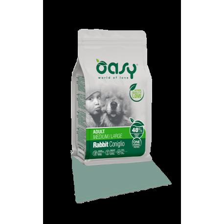 Oasy Dog Adult All Breeds - Coniglio