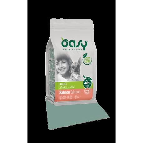 Oasy Dog Adult Small/Mini - Salmone 2,5Kg