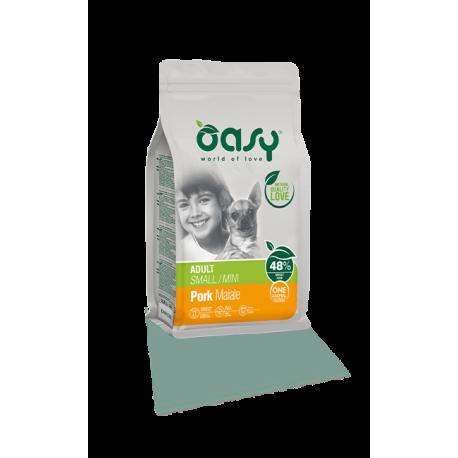 Oasy Dog Adult Small/Mini - Maiale 2,5Kg