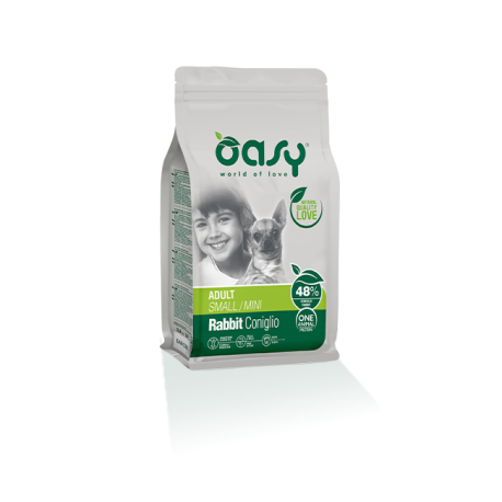Oasy Dog Adult Small/Mini - Coniglio 2,5Kg
