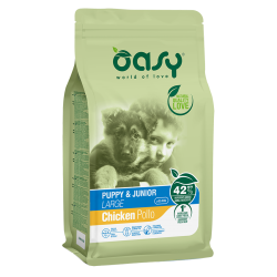 Oasy Dog Puppy/jun.large Kg.12