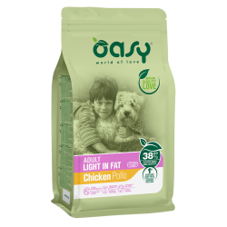 Oasy Dog Adult Light Fat - Pollo