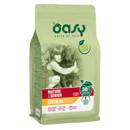 Oasy Dog Mature/senior 3 Kg