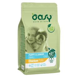 Oasy Dog Puppy&Junior Small - Pollo