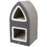 Trixie Cat Tower Marcy - Crema/Grigio