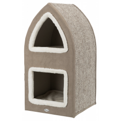 Trixie Cat Tower Marcy - Crema/Marrone