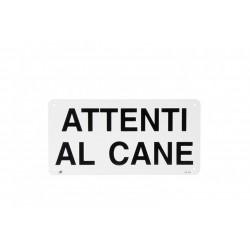 """Camon Targa """"Attenti Al Cane"""""""