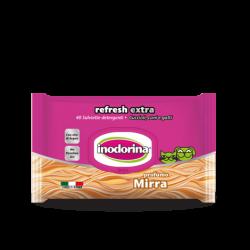 Inodorina Refresh Extra Salviette Mirra - 40 Salviette