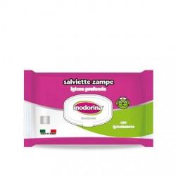 Inodorina Funzionale Salviette specifiche per Zampe - 40 Salviette