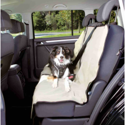 Trixie Copri Sedili da Auto Divisibile - Beige