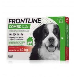 Frontline Combo Cane Oltre i 40Kg  Spot on 3 fiale