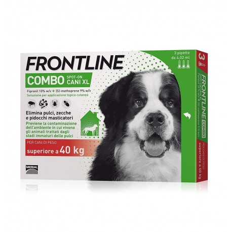 Frontline Combo 40-60 Kg.