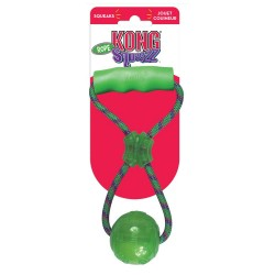 Kong Squeezz Ball con Maniglia