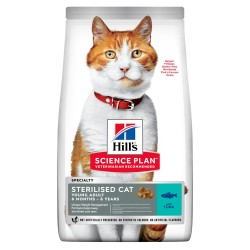 Hill's Cat Young Adult Speciality Sterilized - Tonno