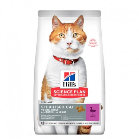 Hill's Cat Young Adult Speciality Sterilized - Anatra - 300g