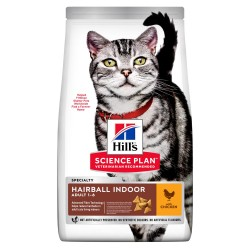 Hill's Cat Adult Speciality Hairball Indoor - Pollo