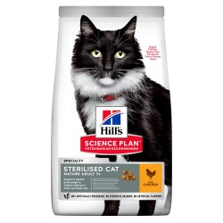 Hill's Cat Mature Adult 7+ Speciality Perfect Weight - Pollo