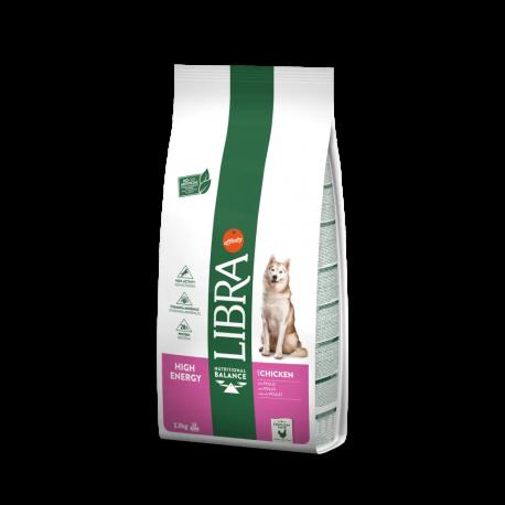 Libra Dog Adult High Energy con Pollo