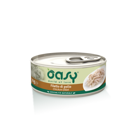 Oasy Cat Specialità Naturali - Filetti di Pollo 150g