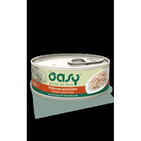 Oasy Cat Specialità Naturali - Pollo con Prosciutto 150g