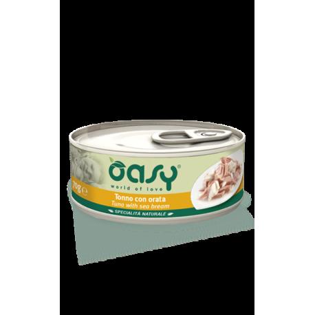 Oasy Cat Specialità Naturali - Tonno con Orata 150g