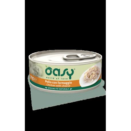 Oasy Cat Specialità Naturali - Pollo con Formaggio 70g