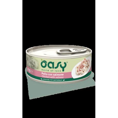 Oasy Cat Specialità Naturali - Pollo con Salmone 70g