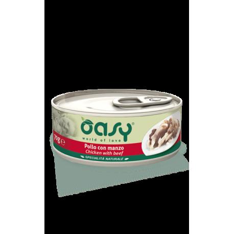 Oasy Cat Specialità Naturali - Pollo con Manzo 70g