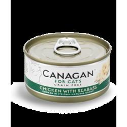 Canagan Cat Pollo con Spigola Grain Free 75g