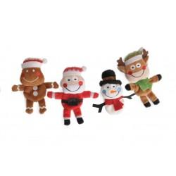 Camon Natale Renna, Babbo Natale, Pupazzo di Neve e Pan di Zenzero