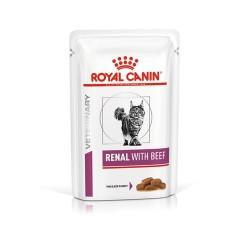 Royal Canin Vet Cat Renal Manzo - Busta 85g