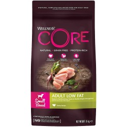 Wellness CORE Adult Small Breed Healthy Weight - Tacchino