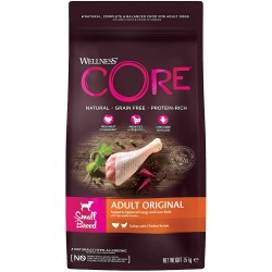 Wellness CORE Adult Small Breed Original - Tacchino