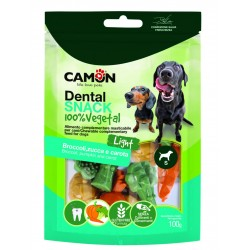 Camon Dental Snack Garden Light - Broccoli, Zucca e Carote