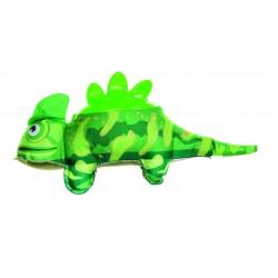 IMAC Plush Iguana con Schiena in Plastica