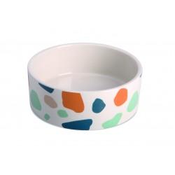 IMAC Ciotola in Ceramica a Macchie Colorate