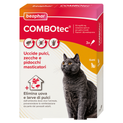 Beaphar COMBOtec Gatto - 3 Pipette