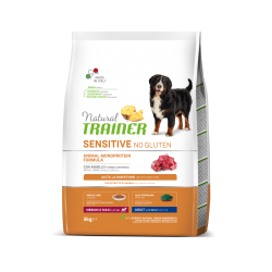 Natural Trainer Dog SENSITIVE Medium&Maxi Adult - Agnello e Cereali Integrali