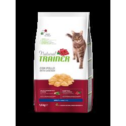 Natural Trainer Cat Adult - Pollo