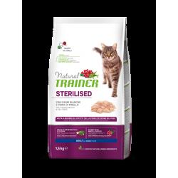 Natural Trainer Cat Adult Sterilised - Carni Bianche