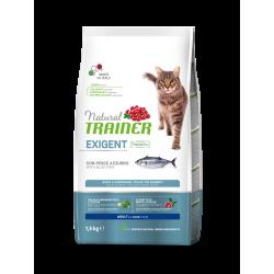 Natural Trainer Cat Adult Exigent - Pesce Azzurro