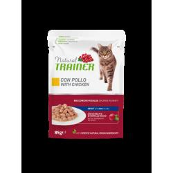 Natural Trainer Cat Adult - BUSTA con Pollo 85g