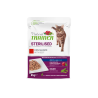 Natural Trainer Cat Adult Sterilised - BUSTA con Manzo 85g