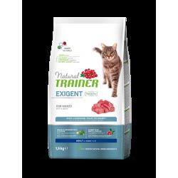 Natural Trainer Cat Adult Exigent - Manzo
