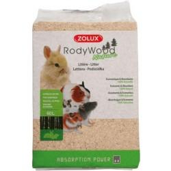 Zolux Lettiera Rody Wood Naturale 60L/4Kg