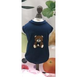 Charlotte's Dress T-Shirt Orsetto Blu
